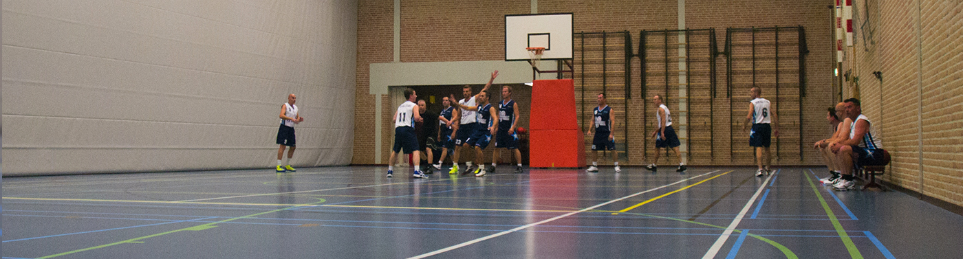 Competitiebasketbal in Maasbracht